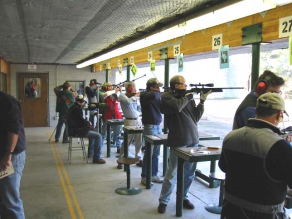 Shooters and spotters at work