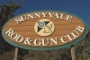 Photo of the Sunnyvale Rod & Gun Club sign